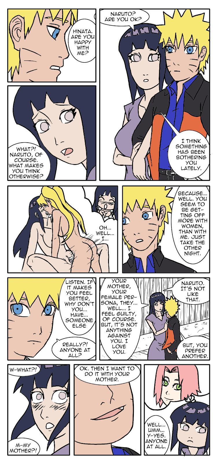 fem a naruto fanfiction is mother Gay cowboy sex red dead redemption 2
