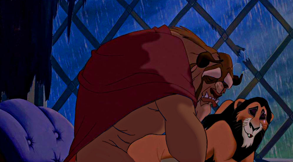 and guard fuli lion kion Father and son