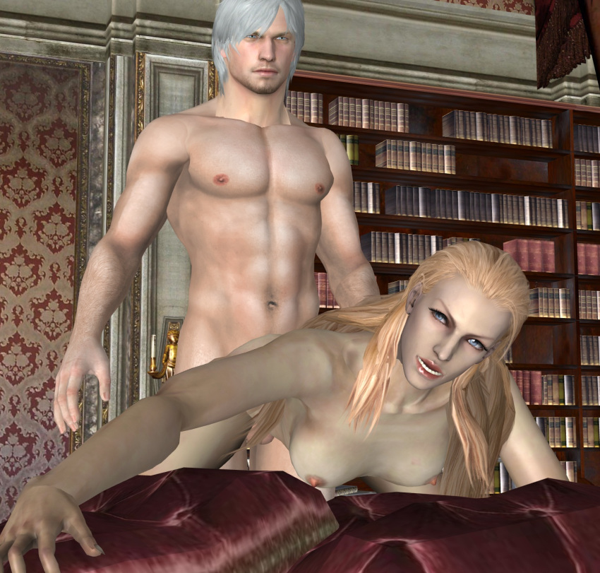 nude may cry trish devil Witcher 3 witch of lynx crag
