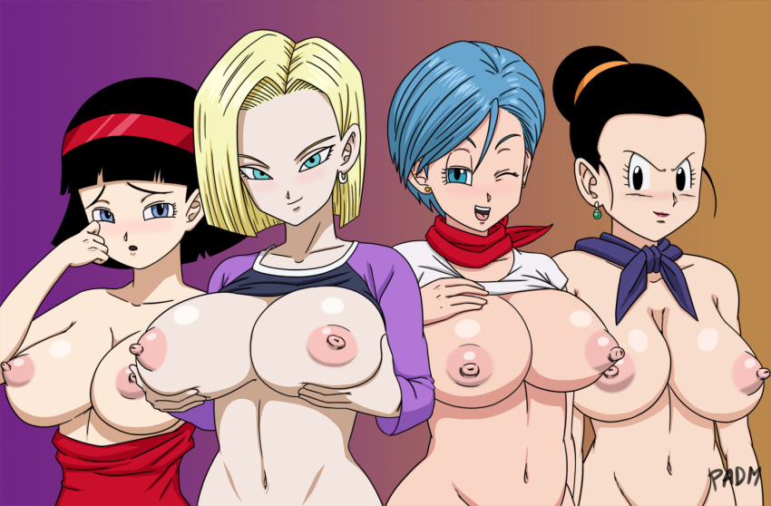 vegeta bulma and in bed Bubbie the whale from flapjack