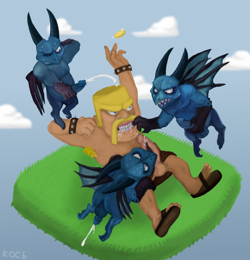 archer clash clans naked queen of Princess luna and shining armor